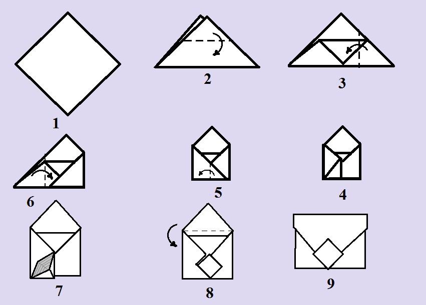 Как-сделать-конверт-из-бумаги