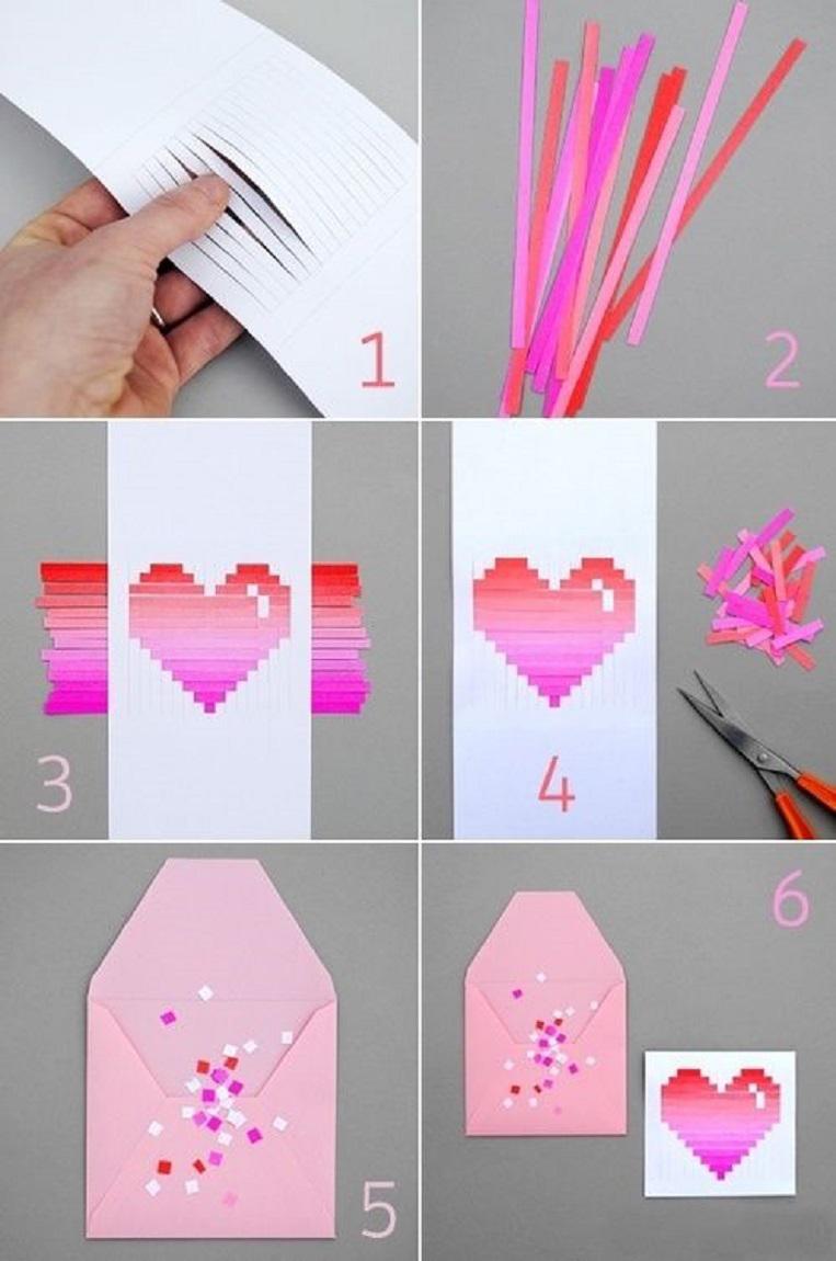 как сделать открытку на день рождения своими руками из белой бумаги видео - Самоделкины