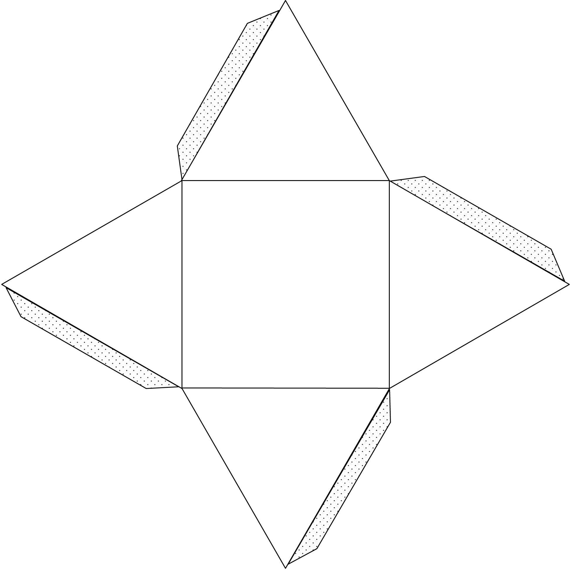 Как сделать пирамиду своими руками из картона