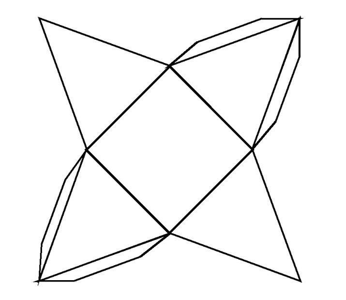 Четырех стороняя пирамида