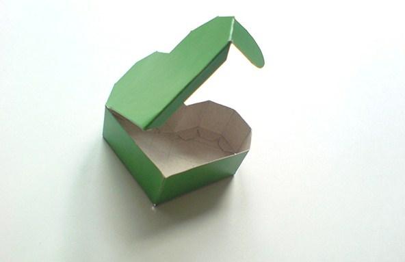 Поделки из бумаги сердечко с коробочкой 106
