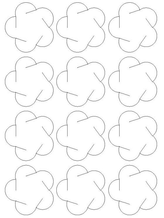 Шары из бумаги схемы шаблоны