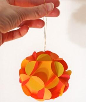 Как сделать объемный шар из бумаги своими