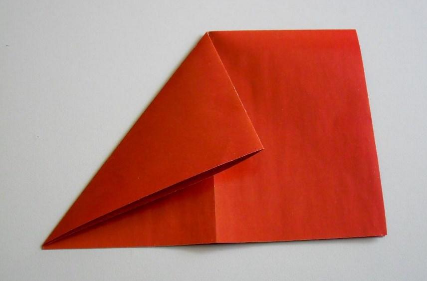 Красная бумага как сделать