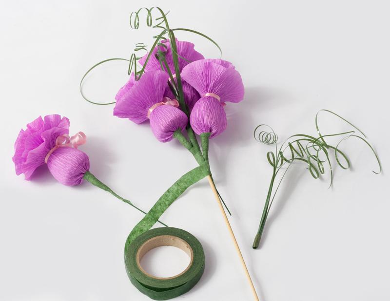 Букет цветов своими руками мастер класс