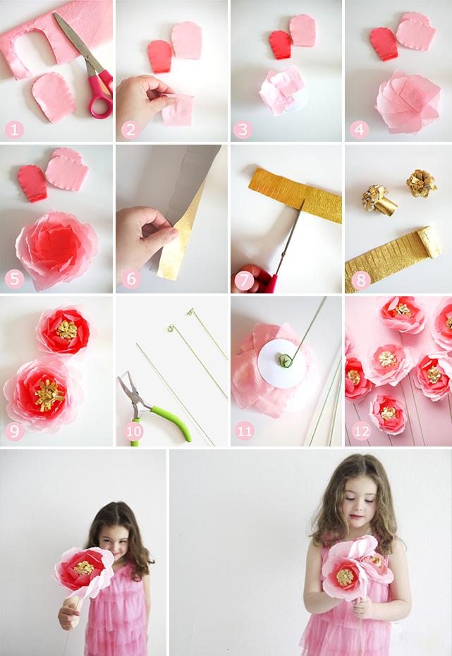 Конфеты из цветов мастер класс