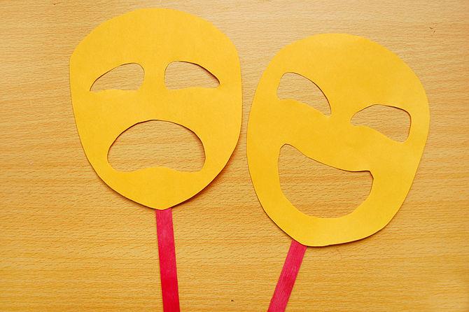 картинки масок на лицо из бумаги